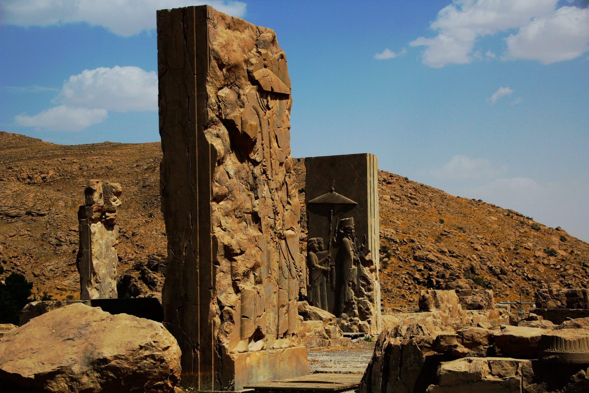 The archaeological site of Persepolis, Iran.