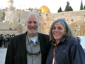U.S. aid contractor Alan Gross and his wife Judy pose for a picture in Jerusalem in the spring of 2005, in this family photograph released on October 23, 2010.