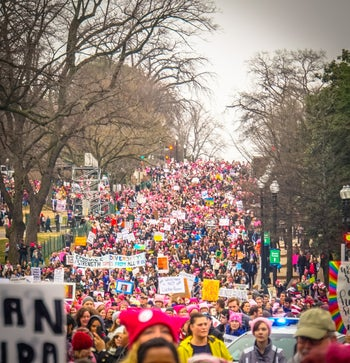 Women's March Washington,DC-USA