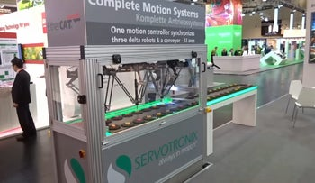 A Servotronix machine.