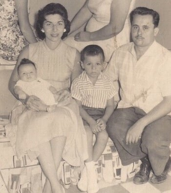 The Zarco family in Cuba.