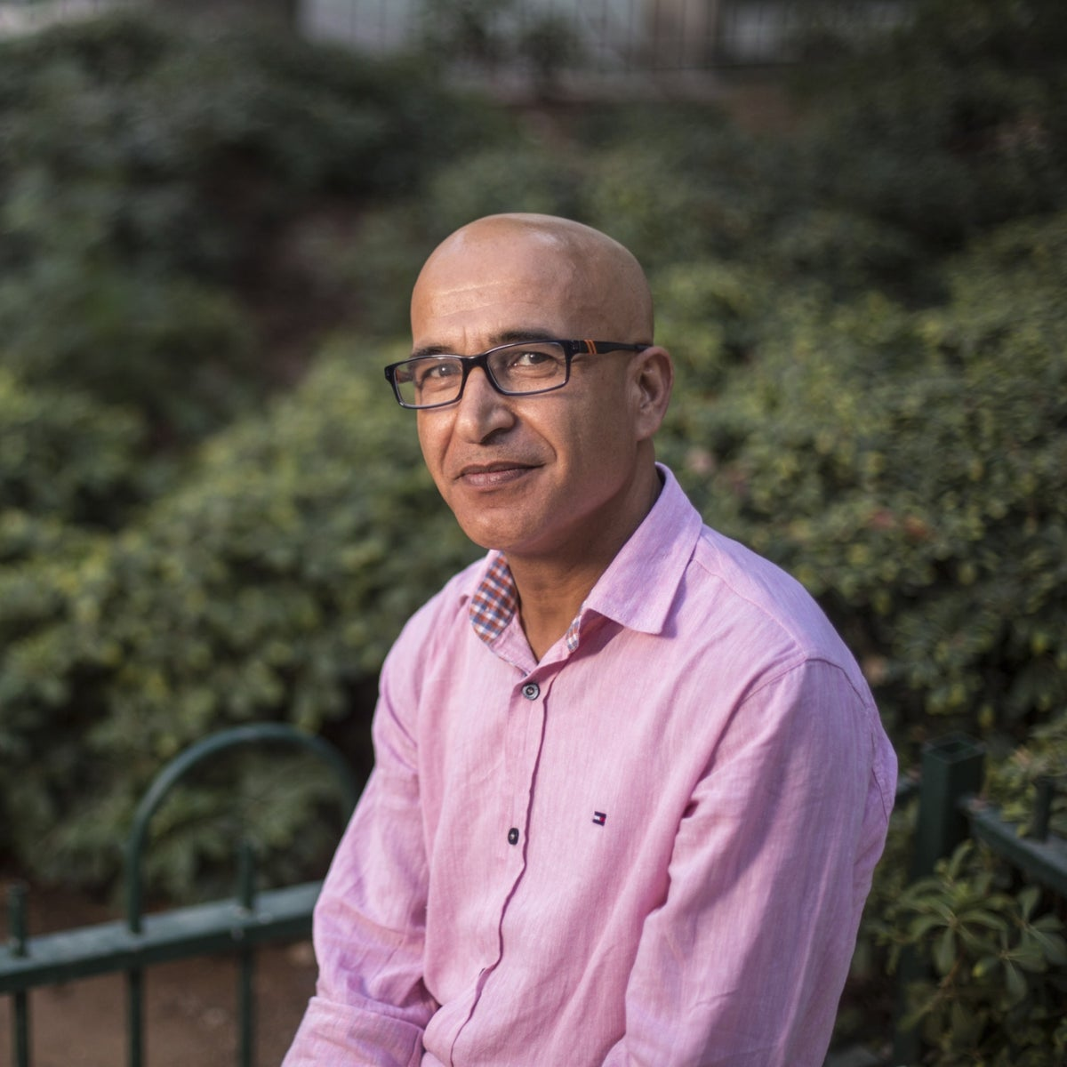 Mohammed Mansour, a psychologist who volunteers in Gaza with Physicians for Human Rights.