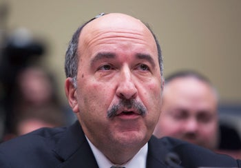Dore Gold attending a hearing on moving the U.S. Embassy to Jerusalem, Capitol Hill, Washington, November 8, 2017.