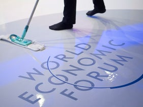 The closing day of the World Economic Forum in Davos, Switzerland, January 20, 2017.