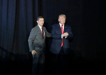 Mike Flynn and Donald Trump, September 29, 2016.