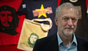 British Labour Party leader, Jeremy Corbyn, in Liverpool on September 26, 2016.