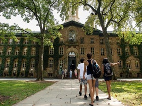 Princeton University campus in Princeton, New Jersey, U.S.