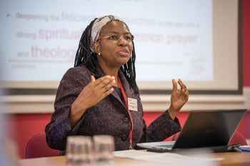 Isabel Phiri of the World Council of Churches, September 2016.