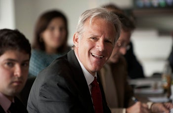 Michael Oren, formerly Israel's ambassador to the U.S., and currently Deputy Minister in the Prime Minister's Office. Washington, D.C. Aug. 15, 2012