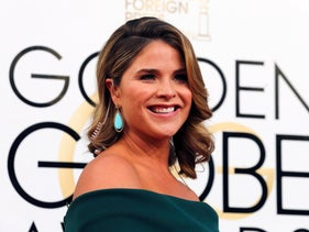 TV personality Jenna Bush Hager arrives at the 74th Annual Golden Globe Awards in Beverly Hills, California, U.S., January 8, 2017.