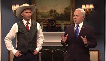 SNL skewers 'Bannon's guy' Roy Moore over sexual assault claims in Alabama senate race