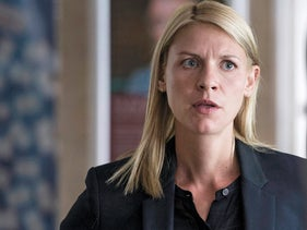 Claire Danes in a scene from the new season of 'Homeland.'