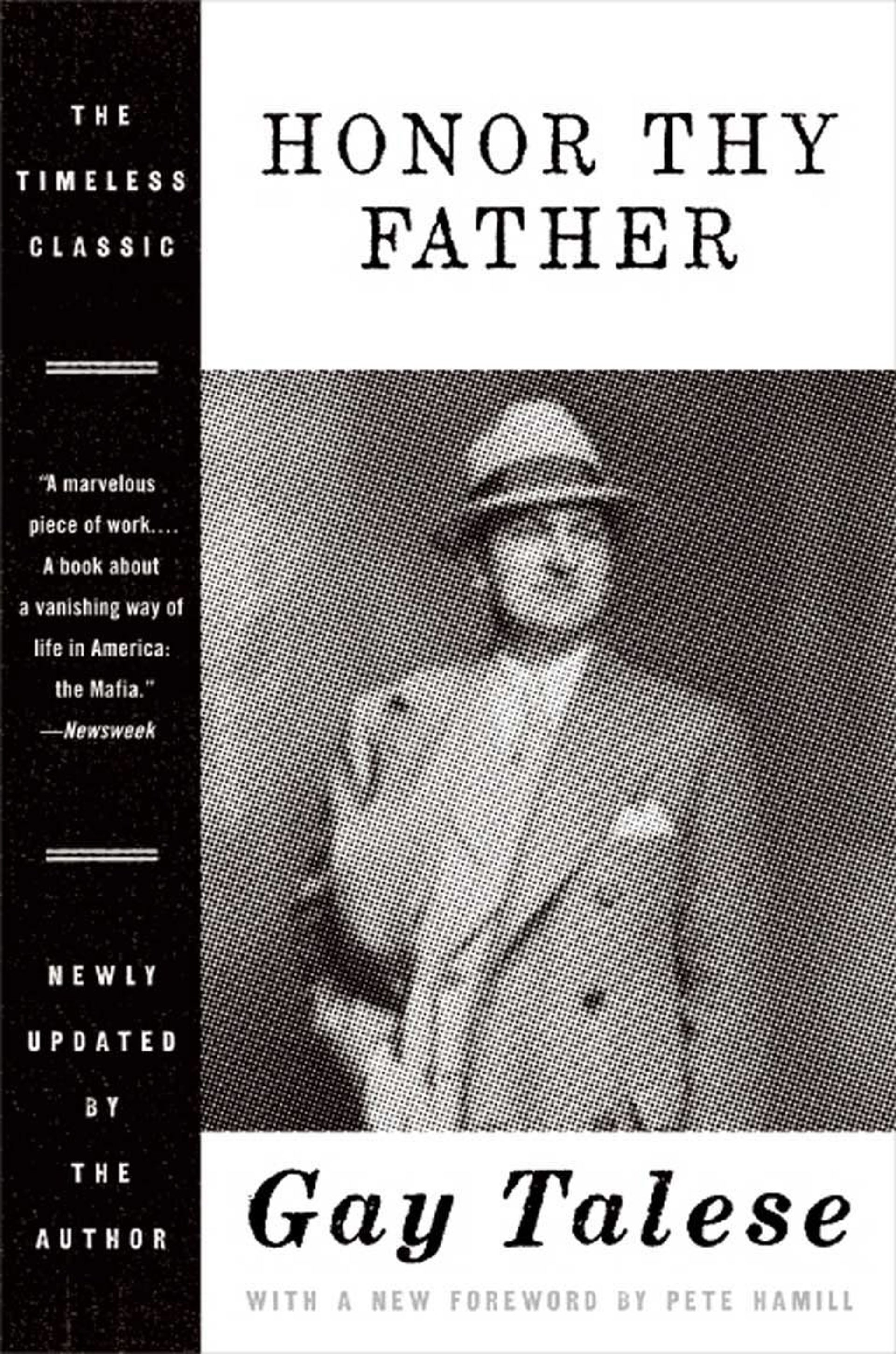 The cover of Gay Talese's book 'Honor Thy Father.'