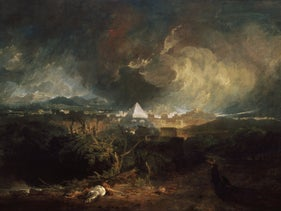 'The Fifth Plague of Egypt' by J.M.W. Turner (1800).
