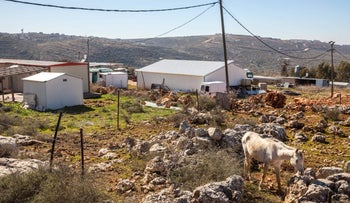 The West Bank outpost of Tapuah.
