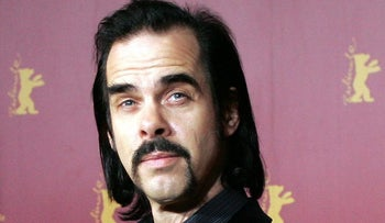 Australian musician and author Nick Cave in Berlin February 13, 2006