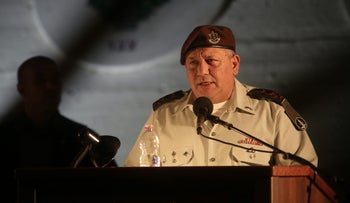 Israel's military chief Maj. Gen. Gadi Eizenkot, September 7, 2017.