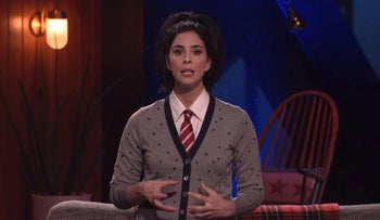 Sarah Silverman Comments on Sexual Harassment | I Love You, America