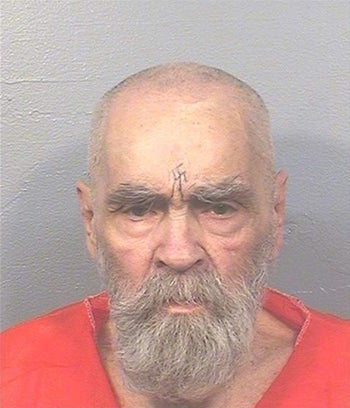 """Charles Manson, the cult leader who sent followers known as the """"Manson Family"""" out to commit gruesome murders, at California State Prison in August 2017."""
