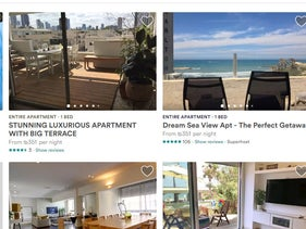 Screen shot from Airbnb website.
