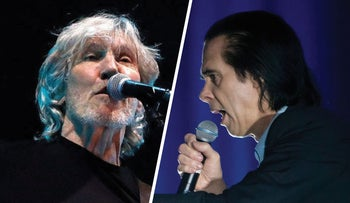 Roger Waters and Nick Cave.