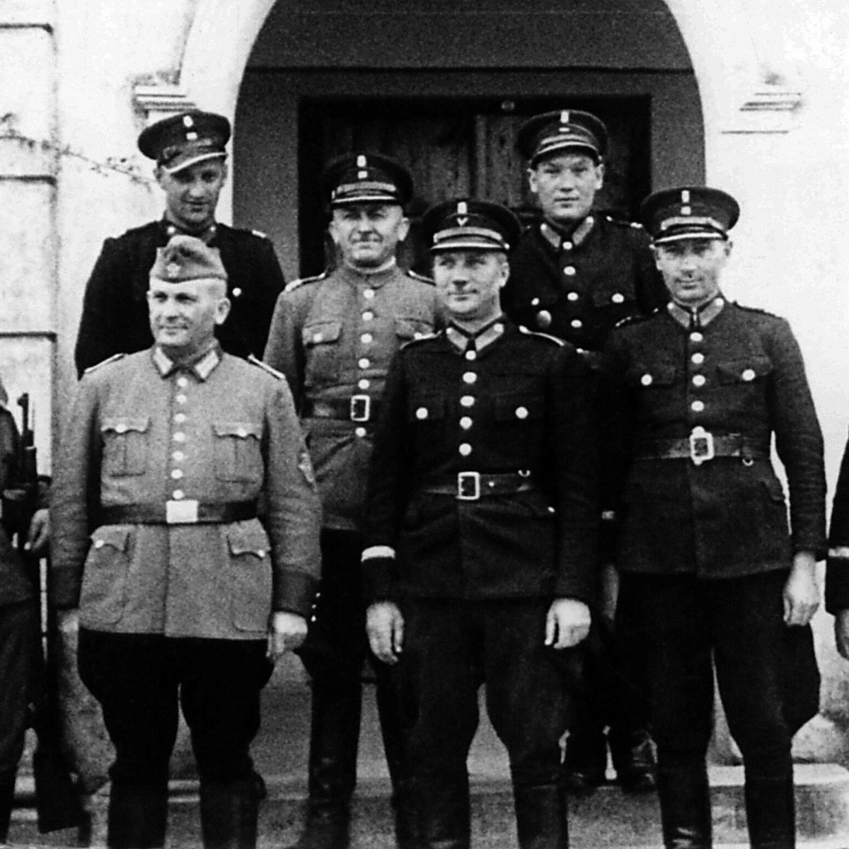 German and Polish police, Poland, 1943.