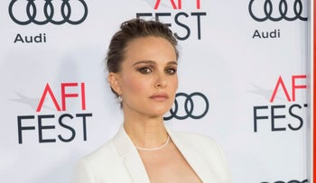 """Actress Natalie Portman arrives at the 2016 AFI Festival """"Jackie"""" Centerpiece Gala at the TCL Chinese Theatre on Monday, Nov. 14, 2016, in Los Angeles"""