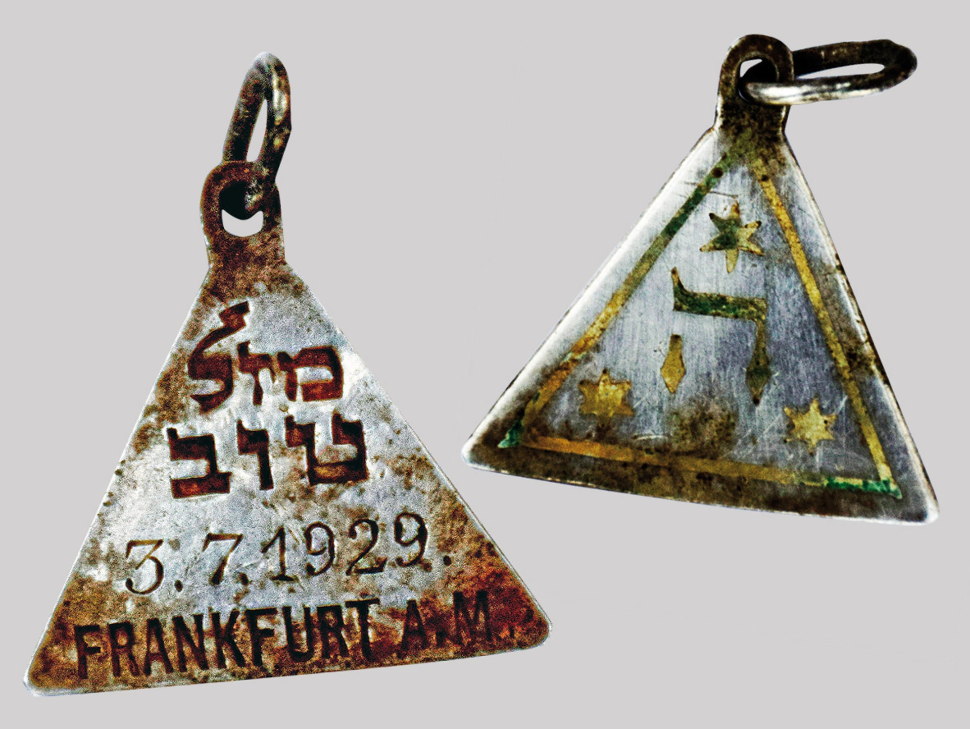 That pendant that's believed to have belonged to Karolina Cohn.