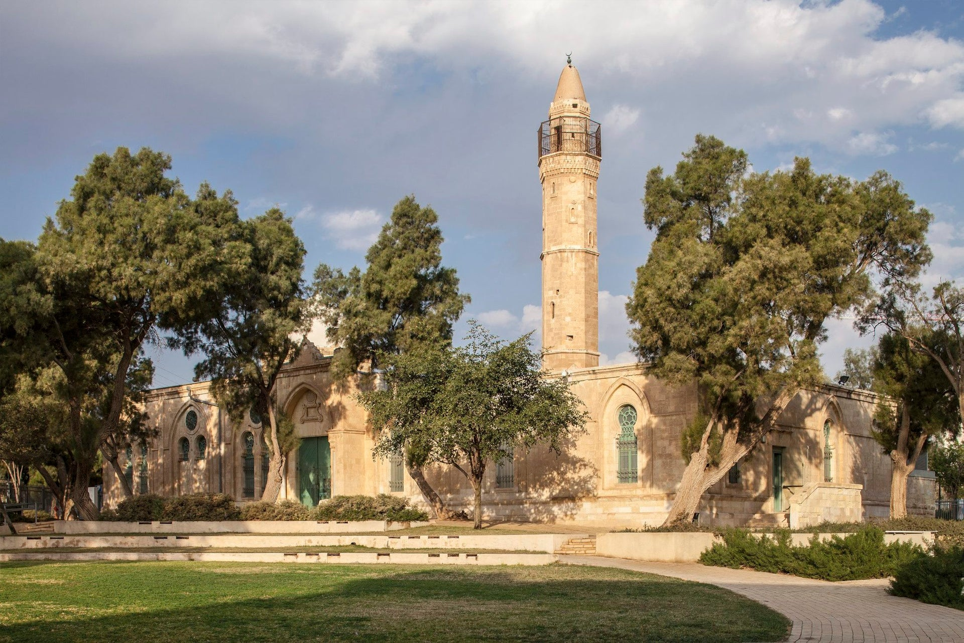 The Museum of Islamic and Near Eastern Cultures in Be'er Sheva.