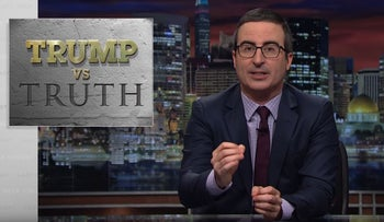 Trump vs. Truth: Last Week Tonight with John Oliver