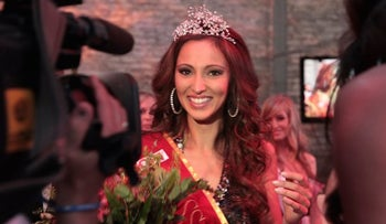 Valeria Bystriskaia was crowned Miss Germany in 2011 and kept her Jewish identity secret.