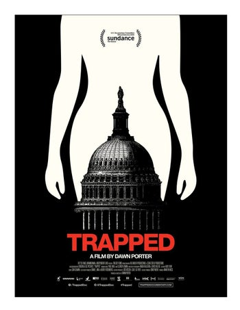The poster of 'Trapped.'