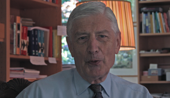Photo of former Dutch prime minister Dries van Agt 14 May 2008