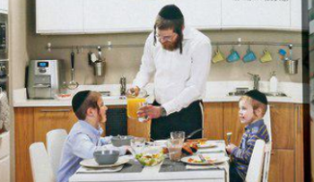 A page from the ultra-Orthodox version of the Ikea Israel catalogue.