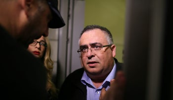 Former coalition whip, Likud MK and suspect of fraud, money laundering and breach of trust, David Bitan.