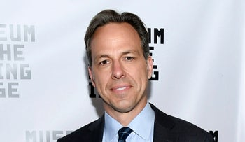 CNN news anchor Jake Tapper.