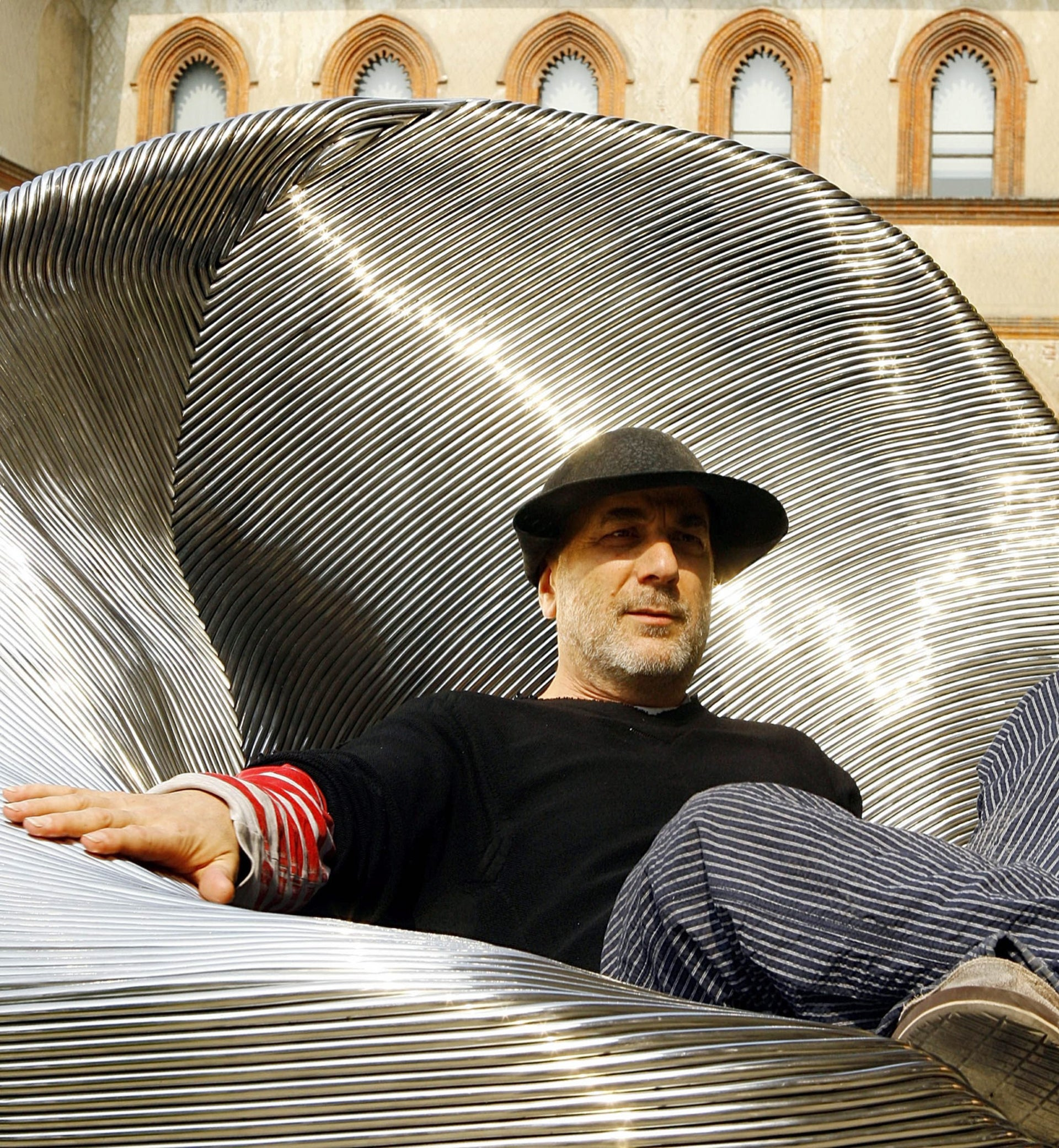 Holon Design Museum architect Ron Arad.