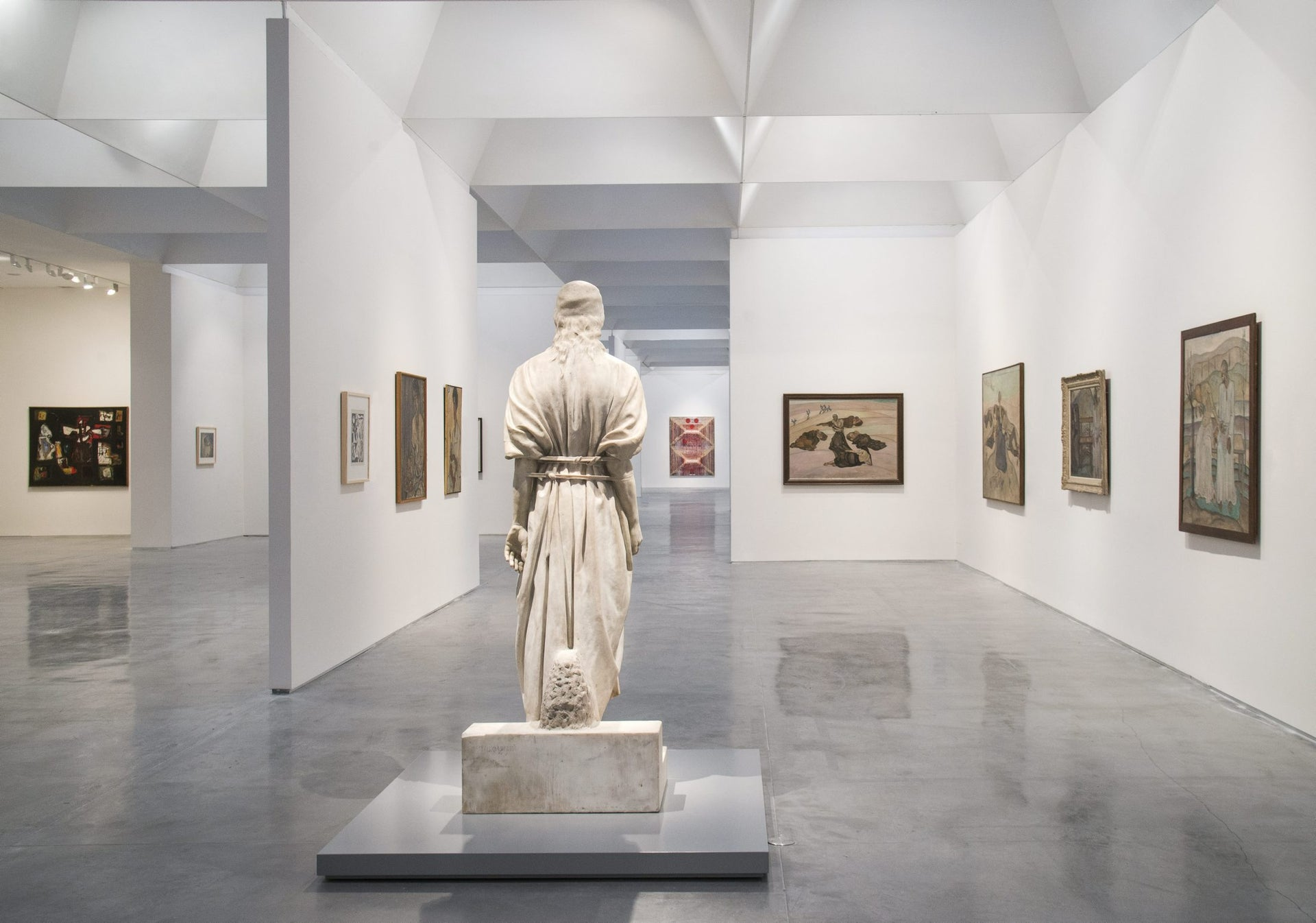 'Behold the Man: Jesus in Israeli Art' exhibition at the Israel Museum, Jerusalem.