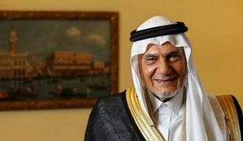 Prince Turki Al Faisal, Saudi's former intelligence chief and onetime ambassador to Washington, poses for a photograph in Cernobbio, Italy, on Friday, Sept. 1, 2017