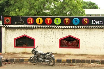 """The """"Hitlers Den"""" pool parlor in Nagpur, epicenter of Hindu nationalism"""