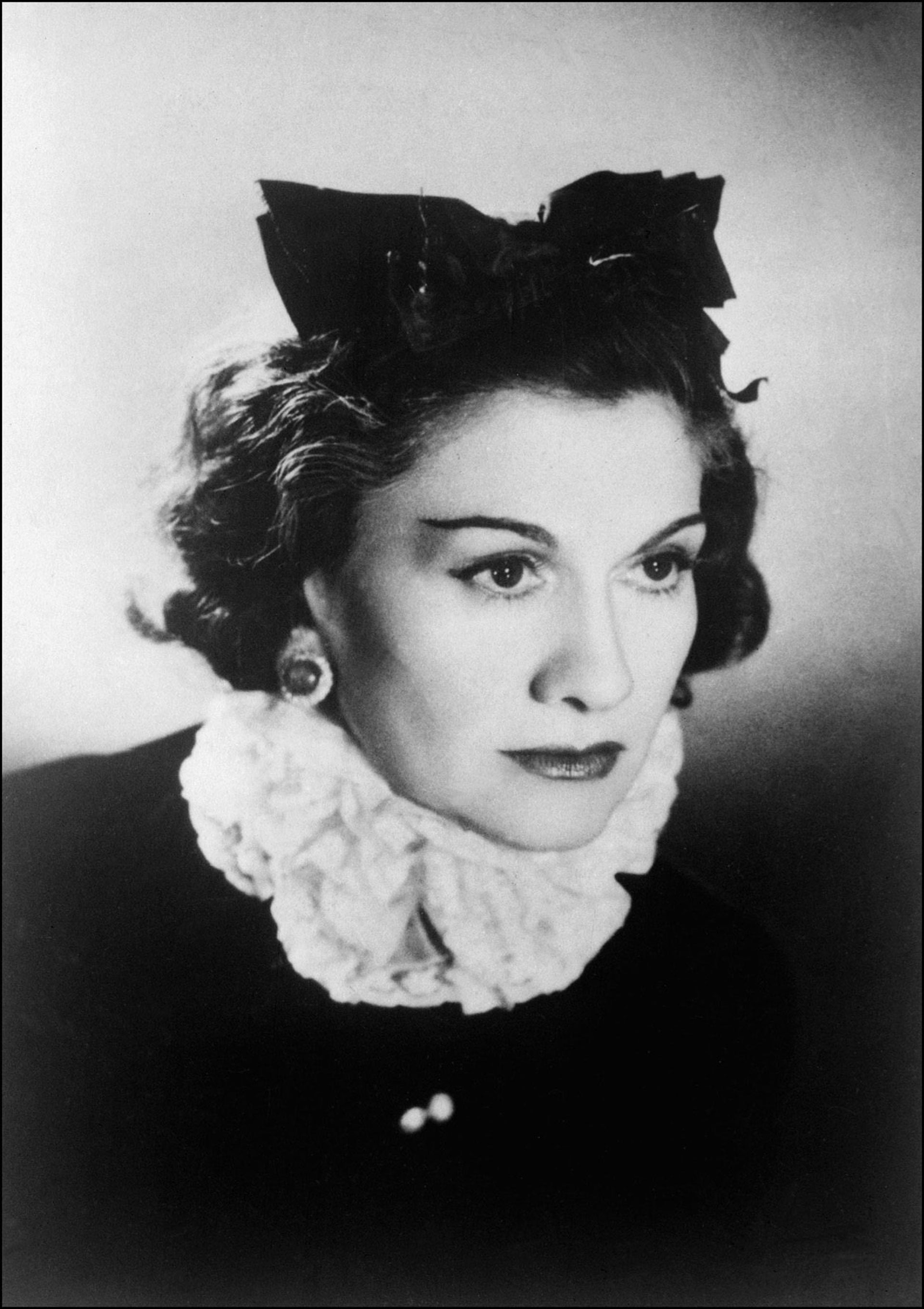 Coco Chanel in 1944. Exploited the Aryan laws in order to deprive her Jewish partners.