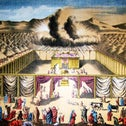 'The Tabernacle in the Wilderness,' illustration from the 1890 Holman Bible.