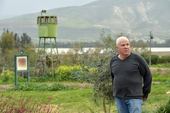 Kibbutz member Danny Brayer, who was a child during the 1948 War of Independence.