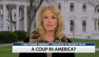 """Coup in America:"" Kellyanne Conway and Jesse Watters in off the rails interview"