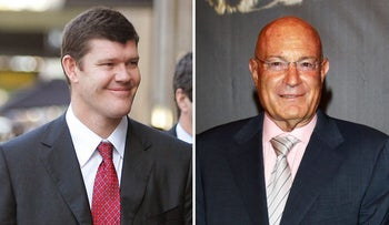 James Packer and Arnon Milchan.