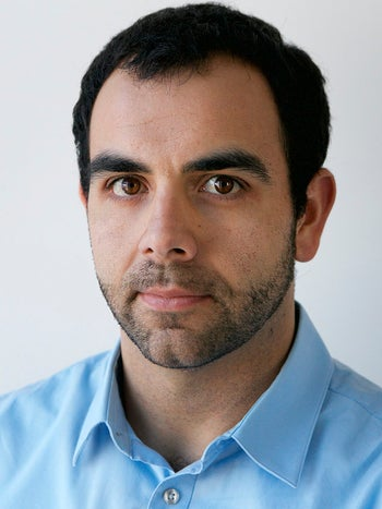 Omar Shakir, Human Rights Watch's Israel and Palestine director, in an undated photo provided by the group on Friday, Feb. 24, 2017