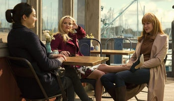 Reese Witherspoon, Nicole Kidman and Shailene Woodley in 'Big Little Lies.'
