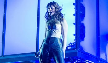 Lorde performs at Coachella Music & Arts Festival in Indio, California on April 16, 2017