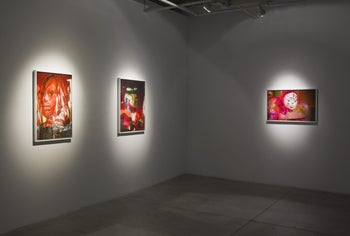 Works by Tommy Hartung.