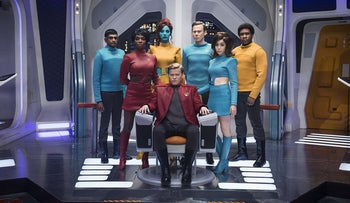From 'USS Callister,' the first episode of 'Black Mirror,' season 4.